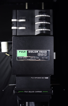 FUJI ENLARGER COLOR HEAD 690